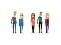 Pixel Family