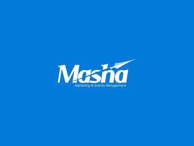 Masha logo simplicity branding