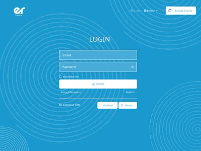 Log In Page design uiux