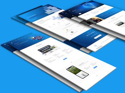 HviewTech website tech webdesign ui