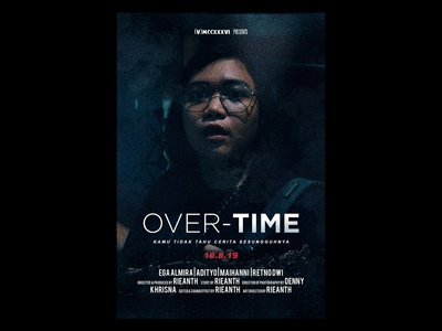 OVER TIME MOVIE POSTER