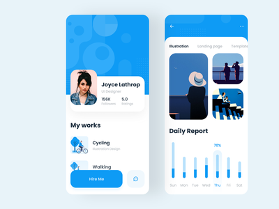 Profile App Design
