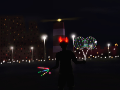 Beach lights