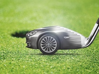 Visual for BMW golf cup