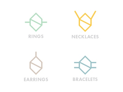 Jewellery Category - Svoboda Glass category jewellery rings necklaces earrings bracelets symbol