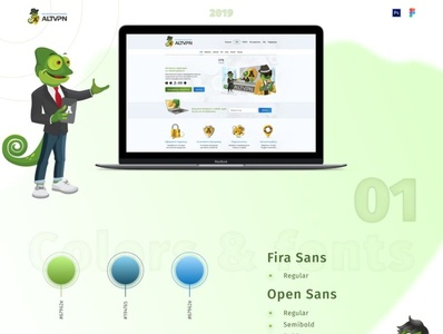 ALTVPN mobile design illustration ux branding ui logo website webdesign figma adaptive