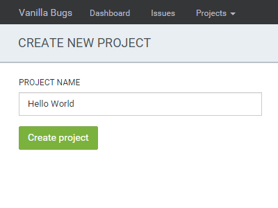 Create project