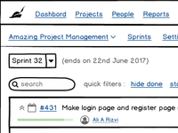 First attempt at using Balsamiq Mockups