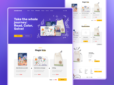 E-commerce for parents & children giftsonline shopping design ui ux equal userinterface userexperience mobile app uxui clean ui books website ecommerce podcast children kids education ecommerce design website design