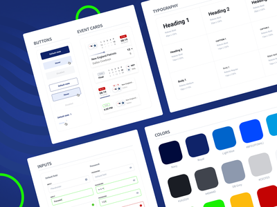 UI kit for the sports betting project colors uikits sports design data heavy gambling website mobilefirst basketball football betting sport uxui uikit userexperience userinterface mobile equal ux ui design