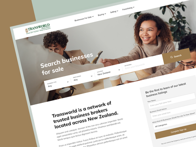 Marketplace for 2 personas & franchising consulting franchise brokerage website platform marketplace b2b desktop personas web mobile business uxui userexperience userinterface equal ux ui design