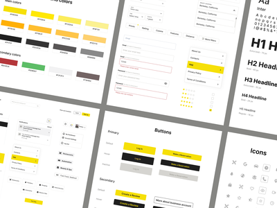 UI kit for the marketplace business desktop responsive inspiration mobile web marketplace uxui cleanui guideline uikit userexperience userinterface equal ux ui design