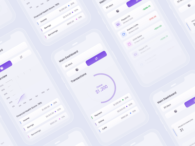 Animation for FinTech project finance app finances freelancers financial dashboard creditcard web app product uxui transactions animation payments tablet fintech app mobile userexperience userinterface equal ux ui design