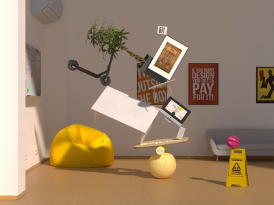 3D Equal Office 3danimation illustration mobile aftereffects cinema4d mograph motiondesign inspiration graphic design motion graphics animation 3d branding logo userexperience userinterface equal ux ui design