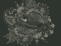 Nike Paisley Illustration