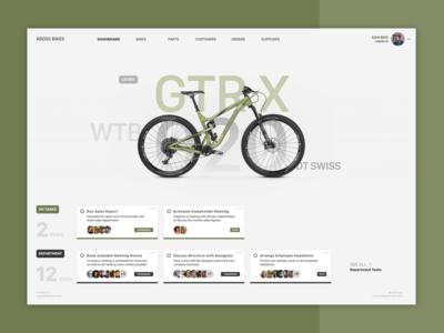 Bike Company - FileMaker Dashboard