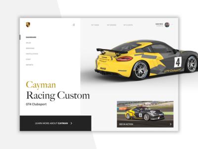 Porsche System - FileMaker Dashboard