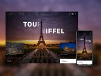 Travel Site - Landing Page