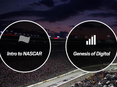 presentation mockups for NASCAR