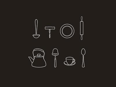 Kitchen icons - part 1 icon icons kitchen
