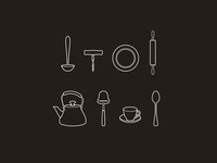 Kitchen icons - part 1