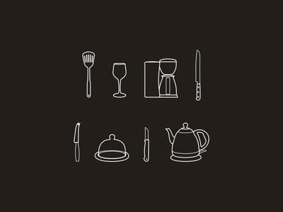 Kitchen icons - part 2 icons icon kitchen