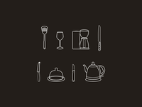 Kitchen icons - part 2
