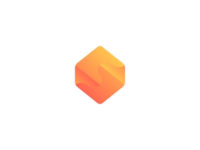 S emblem hexagon