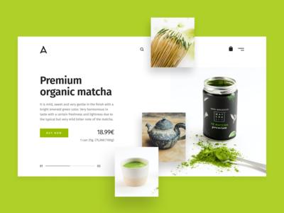 Tea & Coffee Store Website