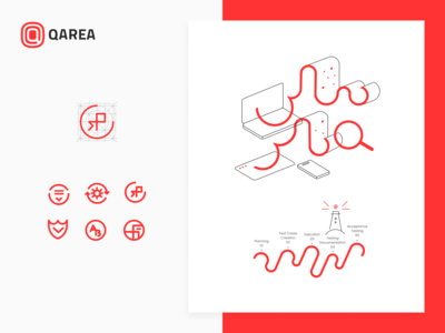 QArea Iconography & Illustrations Guide