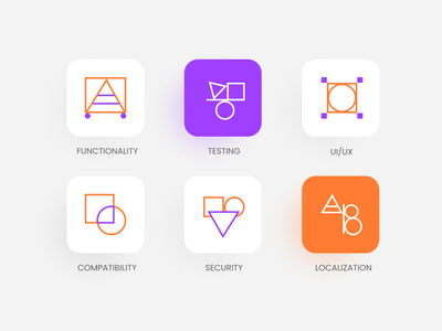 Icon & Button Set testing iconography identity userinterface uidesign ui simple icons line icons geometic icons pack icon design icon set icons clean ui design clean design clean ui clean button states button design buttons