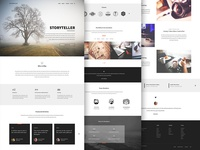 Unicorn Onepage Theme