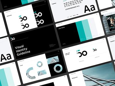 Branding university of applied sciences typography concept layout mint black presentation logo ui  ux corporate design branding website