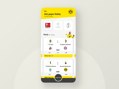 Case study sports betting app typography redesign layout game sketch daily yellow card football soccer mobile ux ui