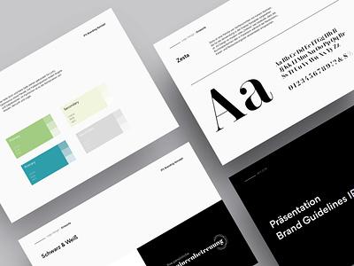 Branding Guidelines guidelines logo colors space white font corporate design keynote template typography keynote presentation branding