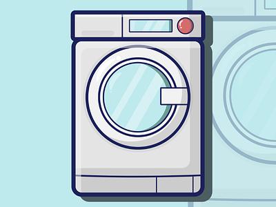 Laundry day flat design vector design vector art graphic art design life graphic design graphics illustrator adobeillustrator inkscape illustration laundry vector