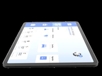 App IPad Mockup