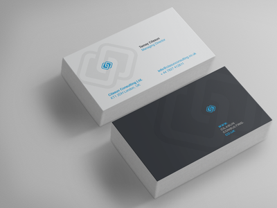 Technology Consulting - Business Card Design
