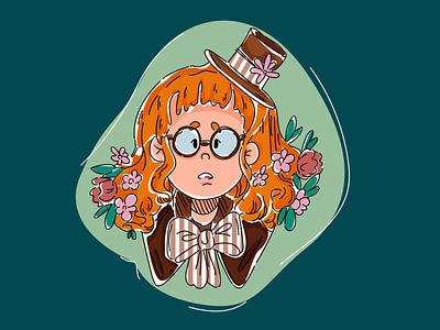 Forest Fairy summer fairy forest design illustrator art vector girl dream illustration dribbble