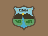 Daily Logo Challenge - Day 20: National Park Badge