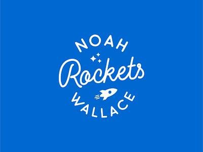 Noah Rockets Logo brand logos logo design graphic designer graphic design logo designer brands design branding