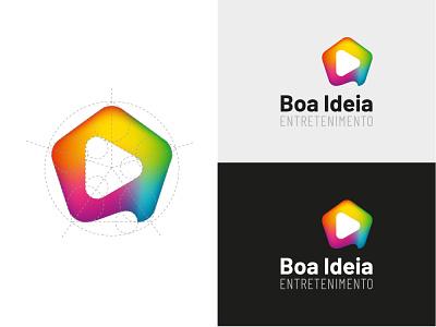 Visual Identity minimal vector icon logo flat design branding