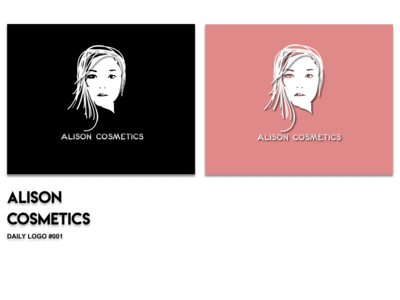 Alison Cosmetics - Daily logo #001