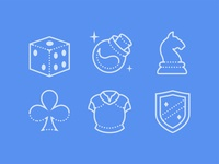 Dotted Icons of Gaming