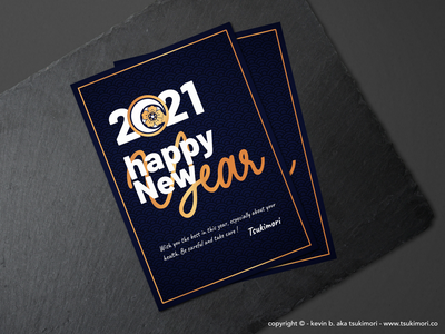 Happy New Year 2021 graphic design illustration happy new year new year card design