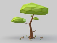 Tree in Low Poly