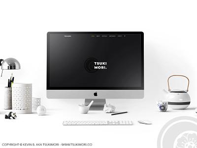 Tsukimori.co - My portfolio webdesign web design wordpress portfolio website web
