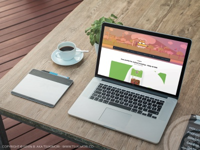 Sketchbook.tsukimori.co - My blog portfolio sketchbook web design webdesign wordpress website web