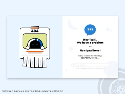 404 error with Noru - Daily UI 008 cute mascot dailyui daily ui uxdesign ux design uidesign ui design uxui uiux ux ui