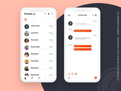 Direct Messaging - Daily UI 013 daily ui dailyui direct messaging messaging ui design uidesign ux design uxdesign uxui uiux ui ux